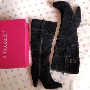 Shoedazzle Viviana Suede Boots
